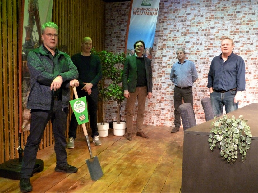 Bomen Nederland Studenten Challenge in volgende fase.