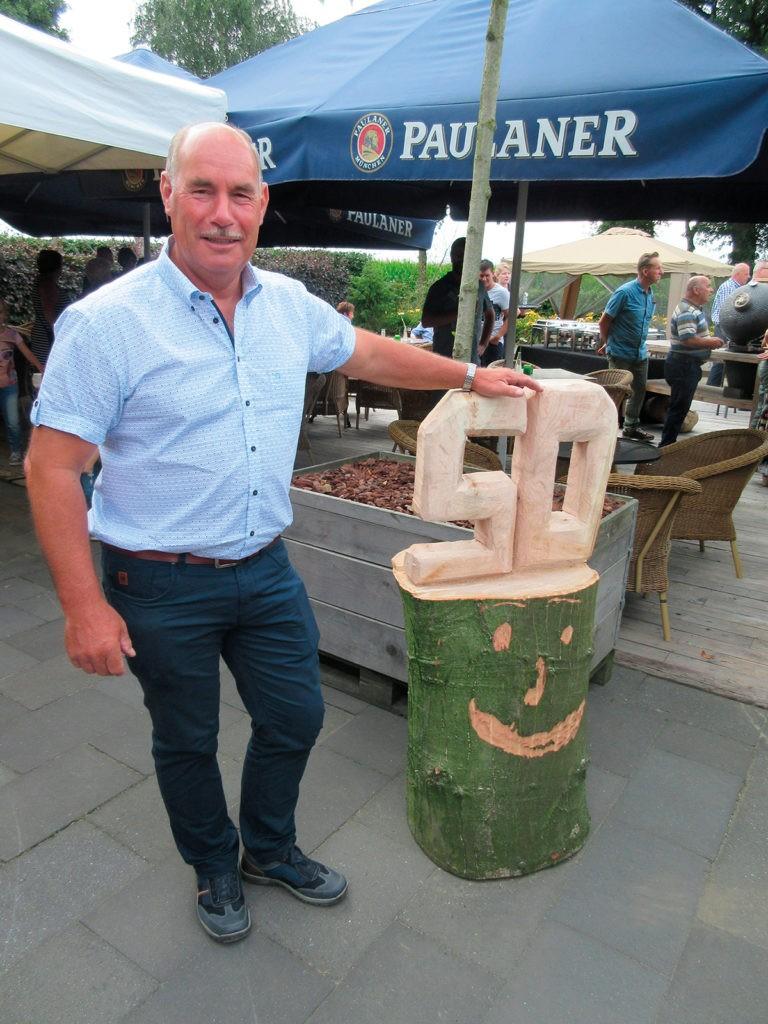 In juli 2017 hebben we het 50-jarig dienstverband van Bert van Son gevierd.