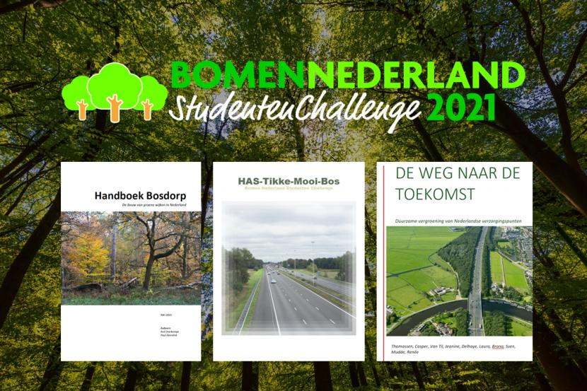 Top-3 nominaties Bomen Challenge bekend