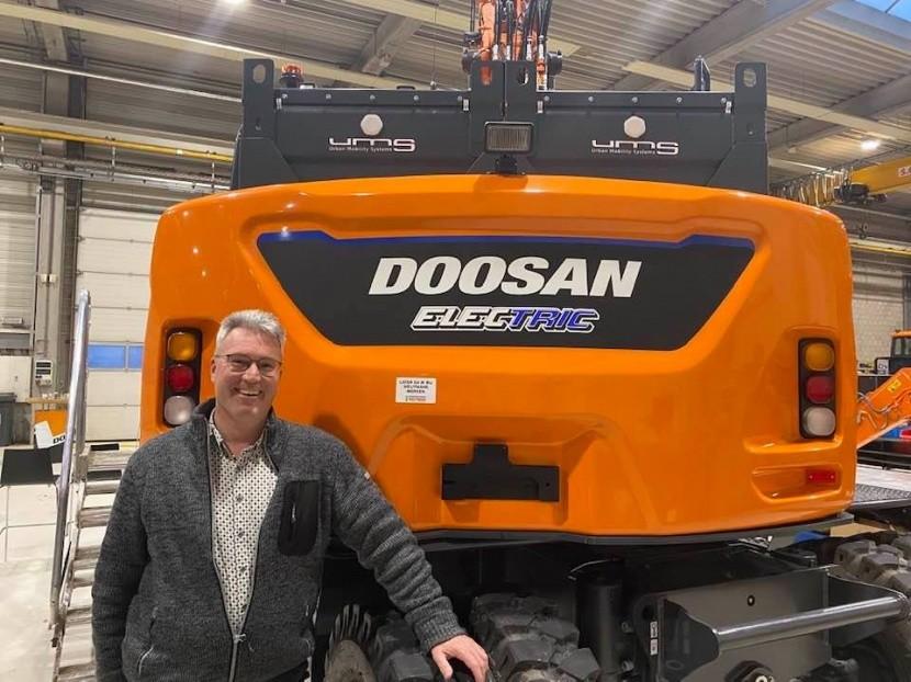 Ontwikkeling elektrische Doosan met hulp Weijtmans